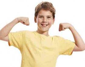 Рост мышц у ребенка