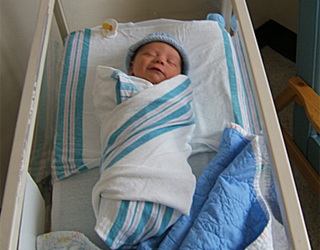 Малыш в больнице