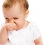 Если у грудничка заложен нос, но сопли при этом не текут