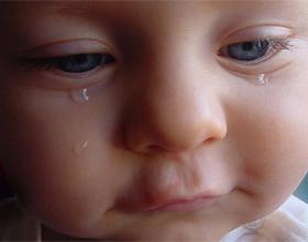 Когда у грудничка появляются слёзы