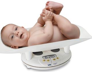 Малыш и весы