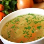Полезные супы для грудничков  — рецепты приготовления