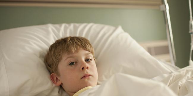 Ребенок с коклюшем в больнице
