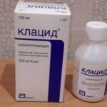 Клацид (125, 250 мг): описание и инструкция для детей