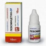 Левомицетин (капли глазные): инструкция и применение для детей