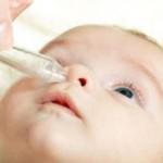 Как промывать нос физраствором грудничку