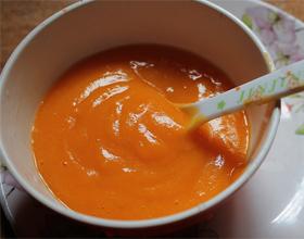 Морковное пюре для грудничка
