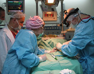 Грудничок на операции