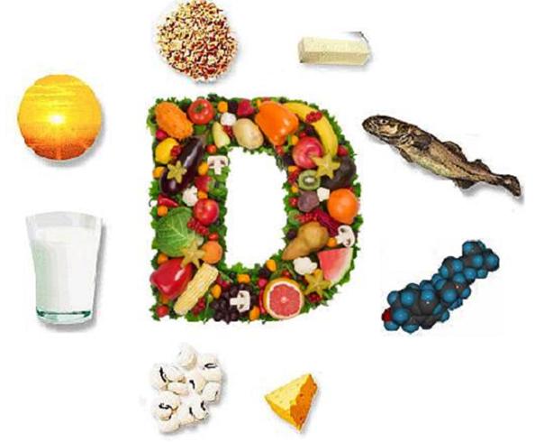 Где содержится витамин D