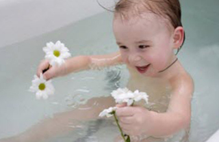 Ромашковая ванна