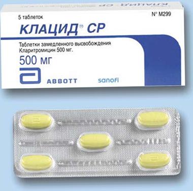 Клацид - таблетки
