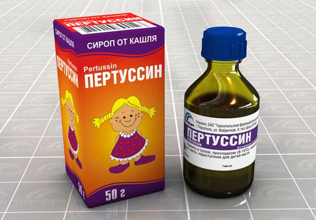 Пертуссин детский