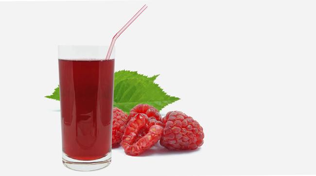 Сок из малины