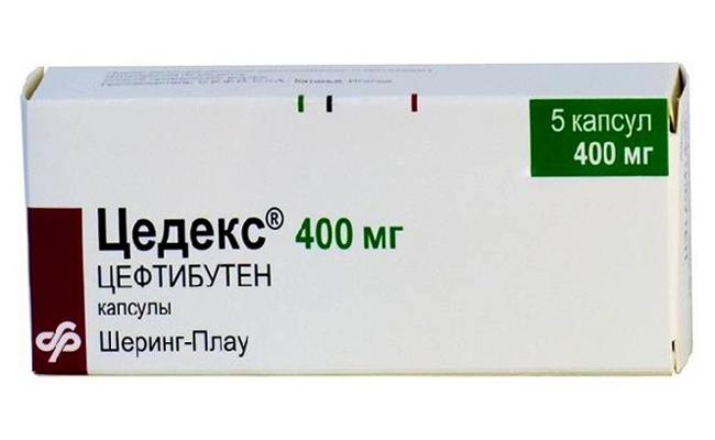 Цедекс - 400 мг
