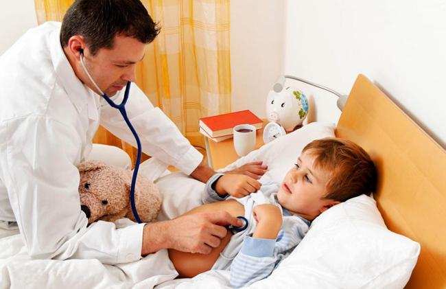 Бронхоспазм у ребенка