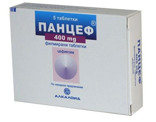 Панцеф - таблетки