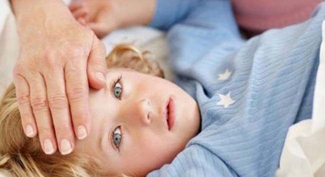 Ребенок с температурой