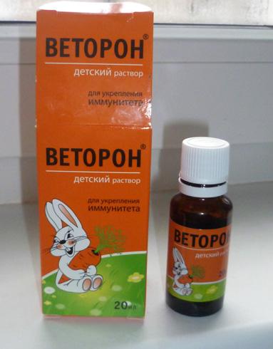 Веторон - раствор