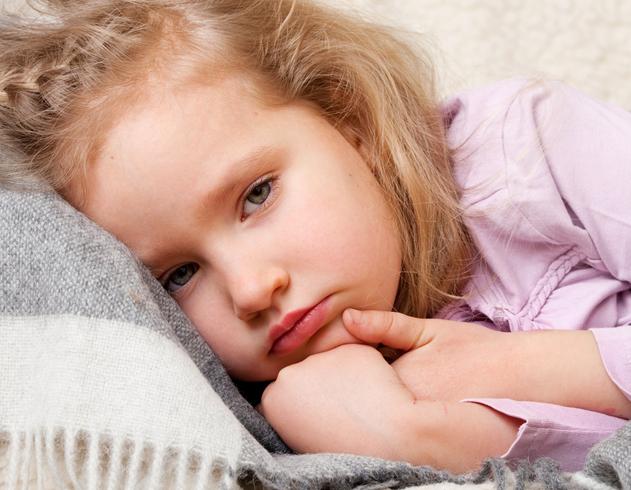 Ребенок с болезнью