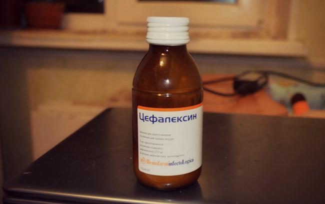 Суспензия препарата