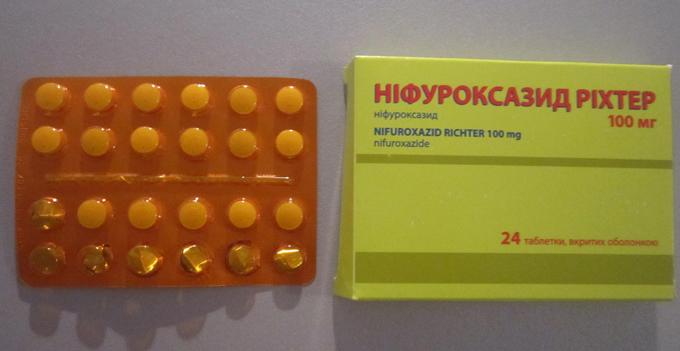Препарат в виде таблеток